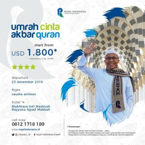umroh plus bersama royal indonesia